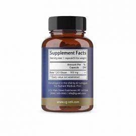Beta Glucan Supplement Facts